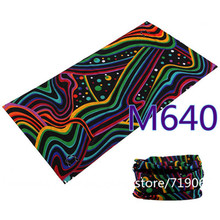 M601-670 Novelty Bicycle Biker Sportswear Bandanas Seamless Headwear Sport Scarf Magic Headband Neck Tube Hijab Face Mask Wrap