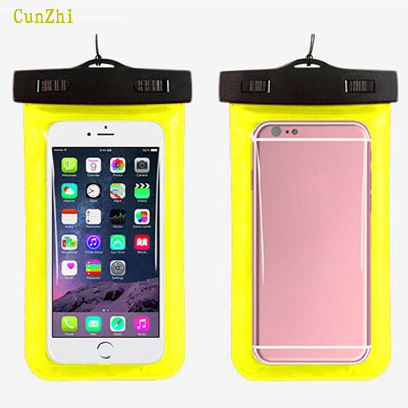 cunzhi New PVC 100% Sealed Waterproof Pouch For Cubot Dinosaur NoteS Note S Case Can Touch Swim Outdoor Phone Bag