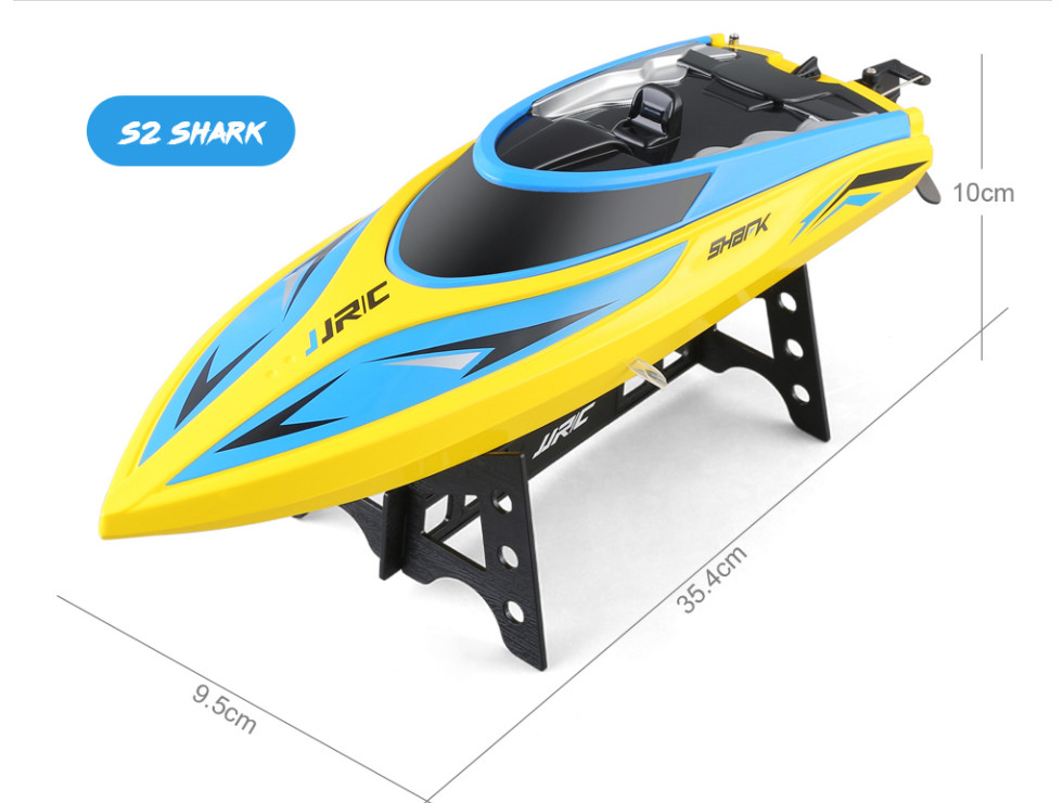 JJRC S2 High Speed RC Boat 2.4GHz 4 Channel 25 KM/H Racing Remote Control Boat RC Toys for Children JJRC S20