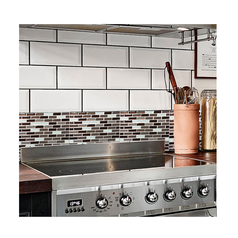 Us 1663 20 Offfree Shipping 3d Wall For Peel And Stick Wall Tiles Kitchen Backsplash Tile 9