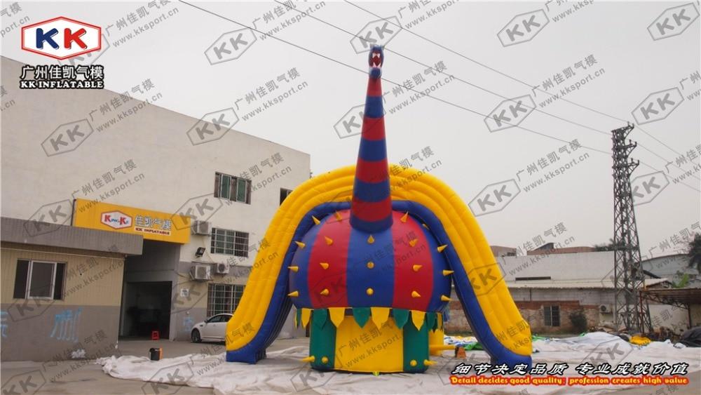 Outdoor Dinosaur Huge Inflatable Slide Dry or WetOutdoor Dinosaur Huge Inflatable Slide Dry or Wet