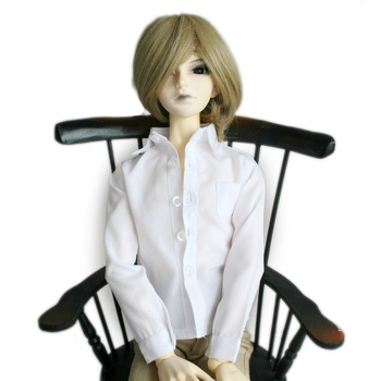 [ wamami ] 529# белая рубашка / экипировка SD17 DZ70 дядя DOD снмп бжд мальчик Dollfie
