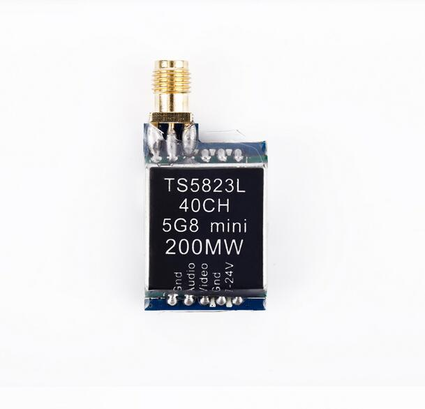Ts5823l 5.8 Г 200 МВт 40ch мини Беспроводной AV аудио передатчик Модуль для RC qav250 Quadcopter Дрон