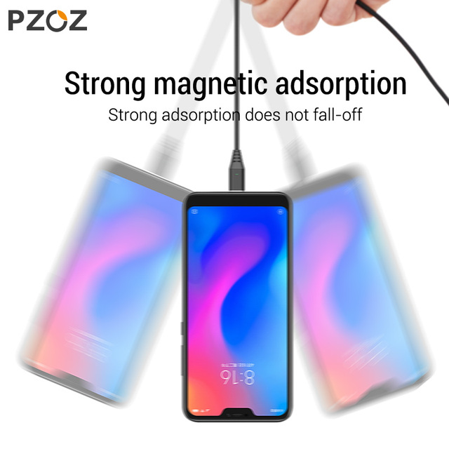 PZOZ 1M 2M Magnetic Cable Micro usb Type C Fast Charging Microusb Type C Magnet