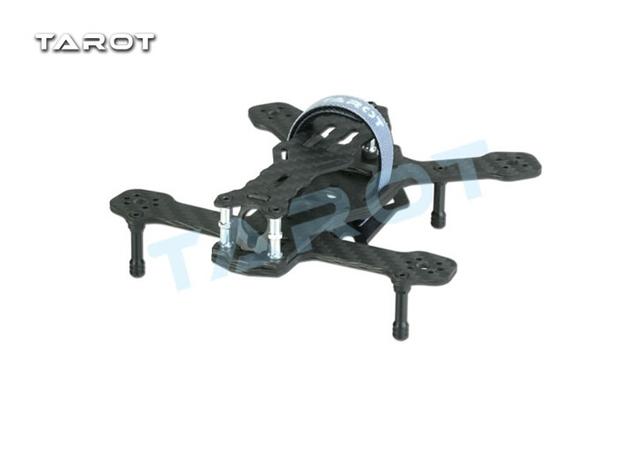 F17847 tl120h2 tarot 120mm armação de fibra de carbono para corridas de fpv quadcopter