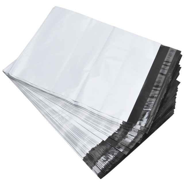 6x9 White Gray Poly Mailer Envelopes Shipping Bags With Self Adhesive 10x13