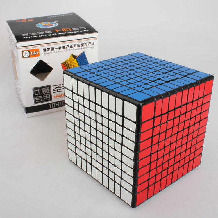 NEW ShengShou 10x10x10  Magic Cube Professional PVC&Matte Stickers Cubo Magico Puzzle Speed Classic Toys Learning Education Toy hot 2014 new brand dayan magic cubes gem vi diamond speed puzzles toy twist square cubo magico learning education toys gift