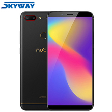 Orijinal Nubia N3 4 GB 64 GB 4G LTE Snapdragon 625 Octa Çekirdek 6.01 inç 2160x1080 p ekran 5000 mAh Büyük pil hücresi Telefonu
