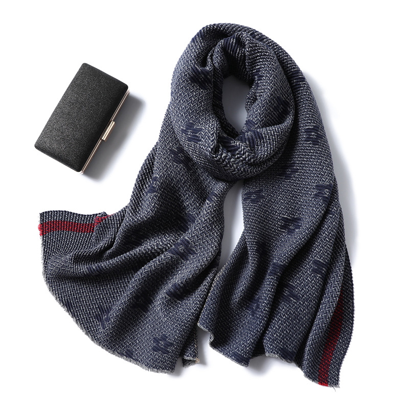 Warm Winter Scarves For Adults Kids Neckerchief Cotton Muffler Scarf Thick Wraps