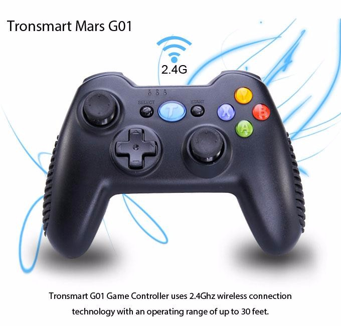 Tronsmart Mars G01 2.4GHz Wireless Gamepad for PlayStation 3 PS3 Game Controller Joystick for Android TV Box Windows (12)