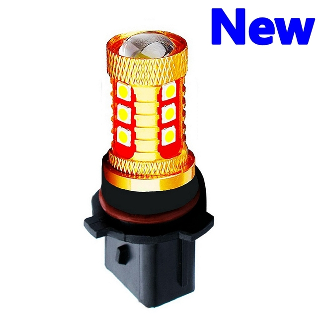 1Pcs High Quality P13W PSX26W 15 SMD 3030 LED Auto Front Fog Lamp Car Daytime Running Lights DRL Driving Bulb 6000K Xenon White