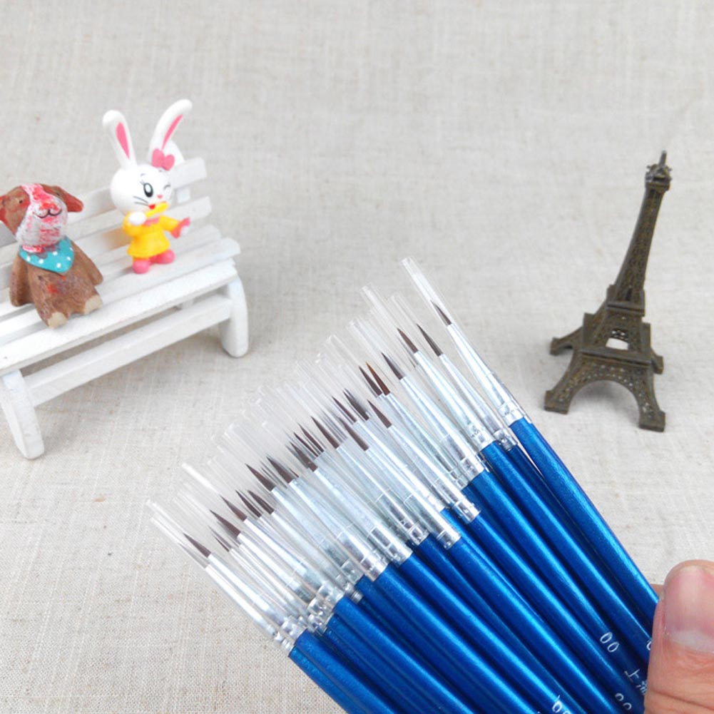 1 pcs Hot Sale Tiny Liner Acrylic Nail Art Tips Design Pen Painting Drawing Brush Set Diy Drop Shipping