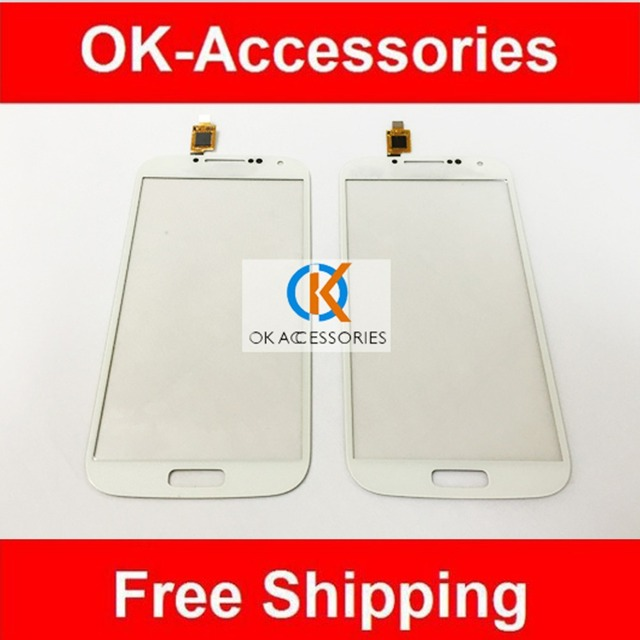 White Color For China i9500 S4 SmartPhone S4 Clone TFP050398C / FPC  XL50QH013N B Touch Screen Digitizer 1PC/ Lot Free Shipping-in Mobile Phone  Touch