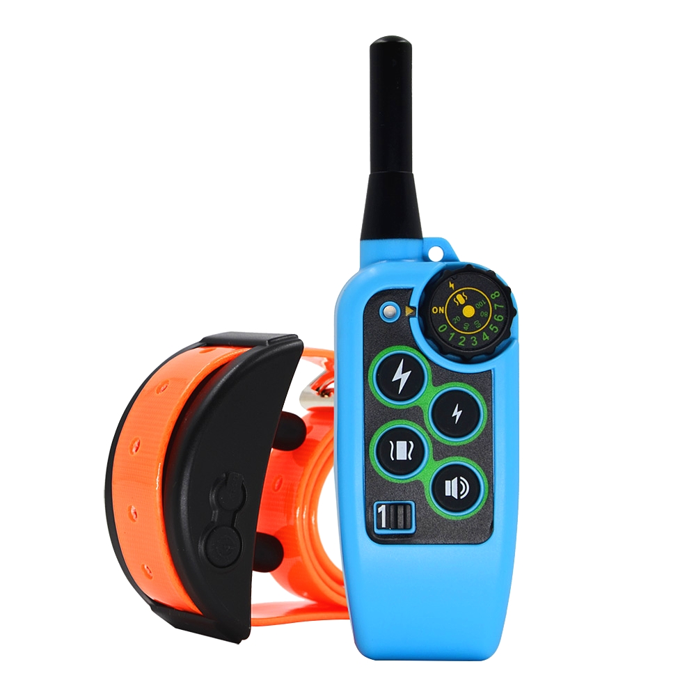 Dog Behavioral Training Collar Vibration Electric Shock Collars For Dogs 8 Levels IP7 Waterproof Remote Control Device Charging