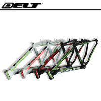 DELT Mountain Bike Brake Lightweight Aluminum Frame For Oil 17 Inch Frame Bike Multicolor