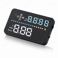 Smart Headup Display HUD Car Projector System Vehicle Mounted Head Up speedometer voltage ometer Clock odometer 3.5 inch|projector speedometer|car speedometer projectorup display -