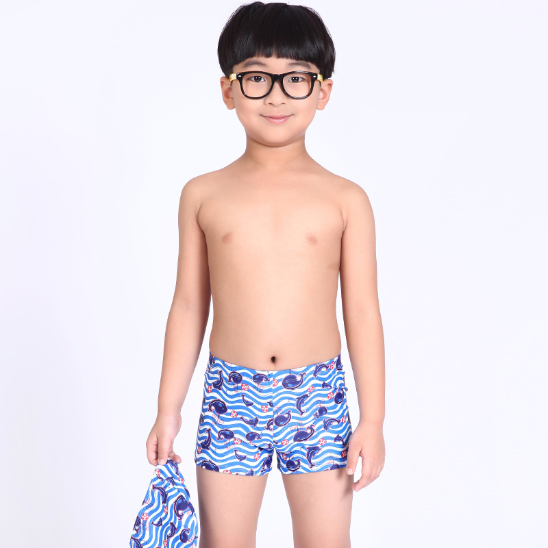 1b0f34d4f Hot sale boy trunks children swimsuit kids briefs beach suits with a  swimming cap