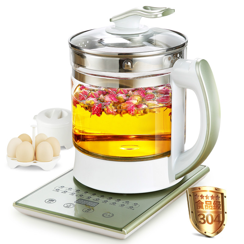 Electric kettle Curing pot Extra thick glass full-automatic multi-functional zhengpin electric Chinese medic free shipping new electric kettle with thick glass curing pot of automatic temperature control electric kettles