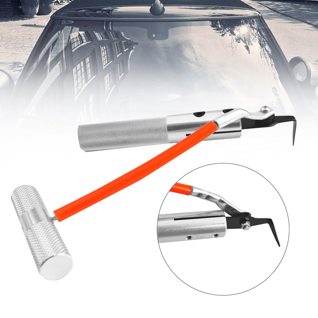 7pc Car Heavy duty Windshield Glass removal tool kit Garage Hand Tool Universal