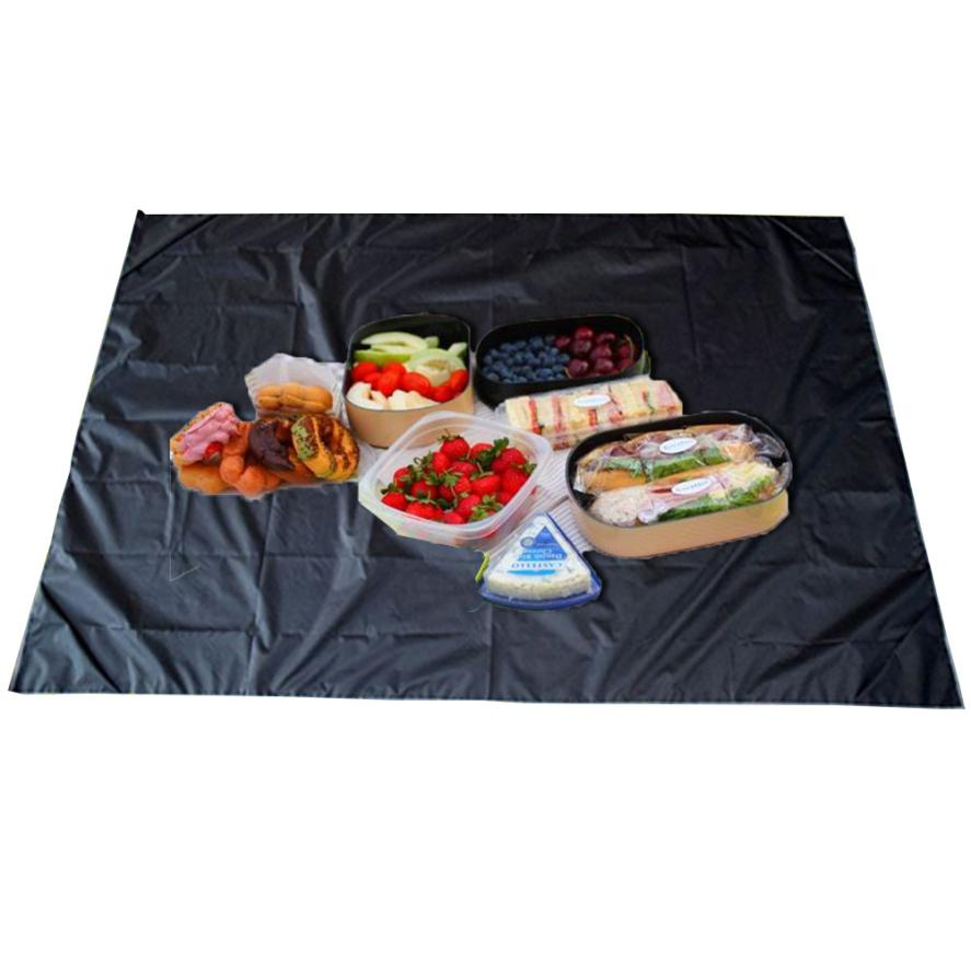 Us 7 35 9 Off Portable Fold Extra Large 1 5m Waterproof Picnic Blanket Rug Travel Outdoor Beach Camping Mat Moisture Proof Durable Nylon Pvc In
