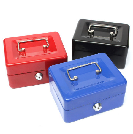 22x30x9cm Portable Metal Office Storage box Bank Money Box Saving Coin Money Box Safe Coin Money Box for Kids Toy Birthday Gift