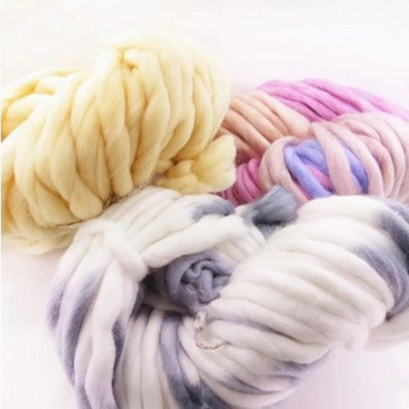Korea Katie Fashion Thick Big Yarn For Hat & Scarf Thick Knitting DIY - Arts, Crafts and Sewing - Photo 3