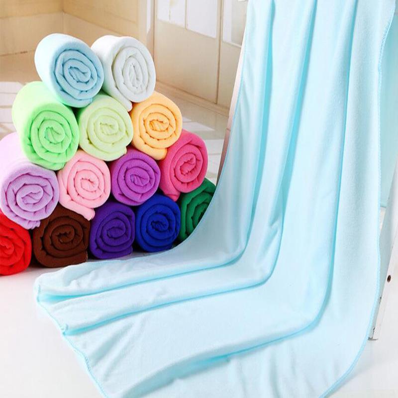 Magical Microfiber banheiro Washcloth bathroom Microfiber bathroom accessories Beach Towels Fast Dry