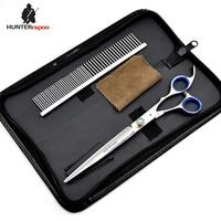 HT9139 Hunterrapoo 8 Inch Professional Pet Grooming Shears Scissor Stainless Steel 440C Pet Hair Cutting Scissor
