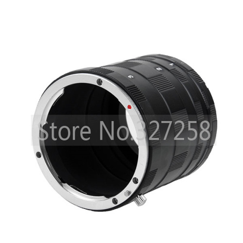 Free shipping+tracking number Macro Extension Tube Ring For CANON EOS EF DSLR & SLR