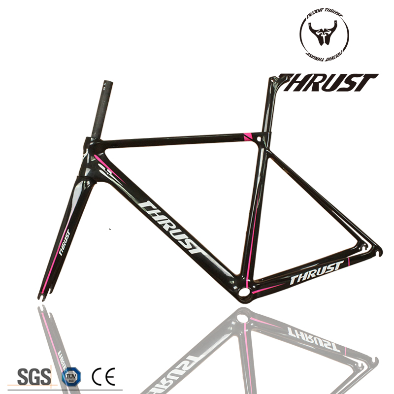 Wholesale 2017 Newest THRUST Carbon Road Frame Carbon Road Bike Frame wholesale 2017 newest thrust carbon road frame carbon road bike frame