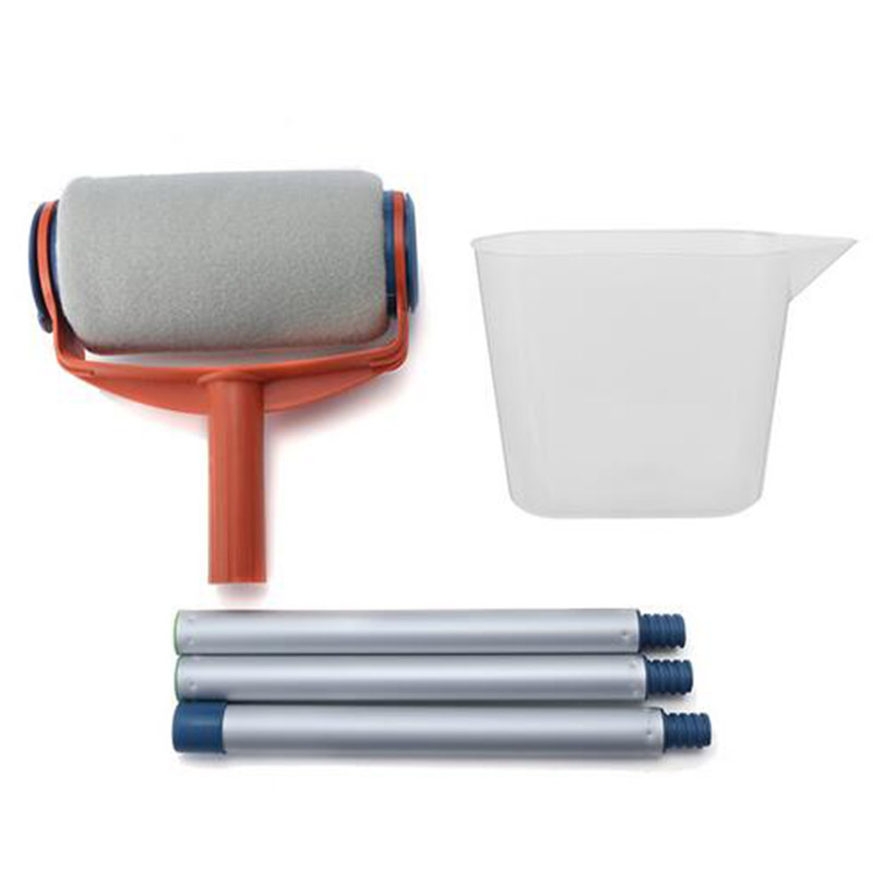 Aodmuki New Pro Paint Roller Kit Brush Painting Runner Pintar Tool Facil Wall Decor ...