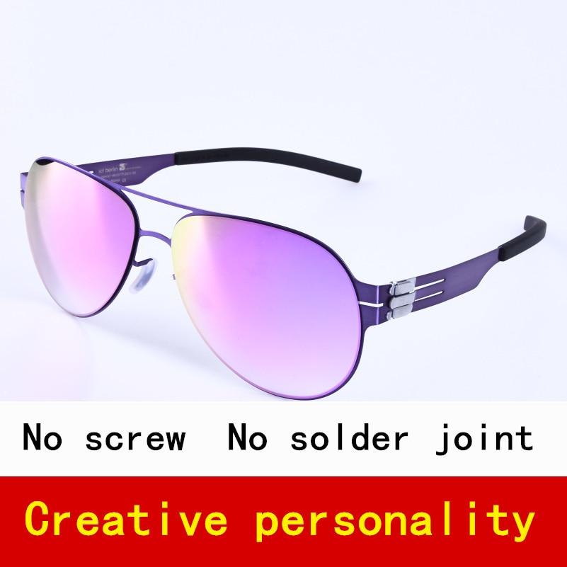 Pilote Marque Polarisées lunettes de Soleil pour Hommes et Femmes Sans Vis Spectaclesr Fashional Lunettes Oculos avec la Boîte D'origine