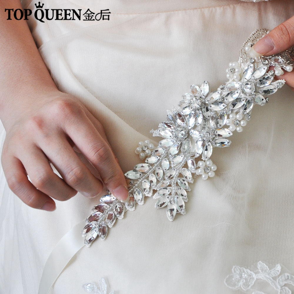 TOPQUEEN H182 Wedding Headband Hair Jewelry Bride Bridal Hair Vine With Pearl Cheap Bridal Hair Vine Rhinestone Bridal Hair Vine