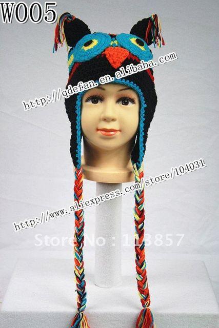 Free Shipping 10lot 100 Cotton Animal Hat Knitting Patterns
