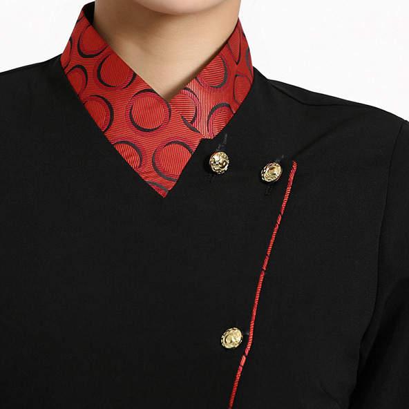 Baru Cina Kreatif Pelayan Restoran Seragam Wanita Seragam Hotel Makanan  Layanan Toko Pakaian Kerja Kopi Pelayan e722f67bf7