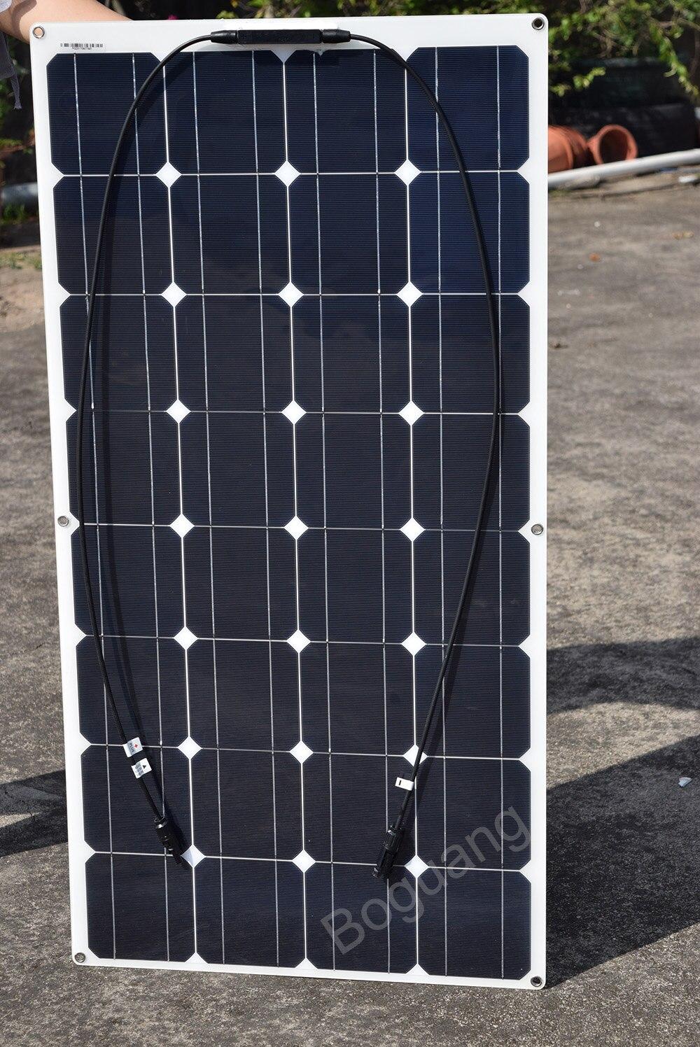Boguang 400 W solar panel solar sistema kit DIY 100 W Módulo 12 V/24 V/40A MPPT controlador de cable tipo Y MC4 cargador adaptador de corriente - 2