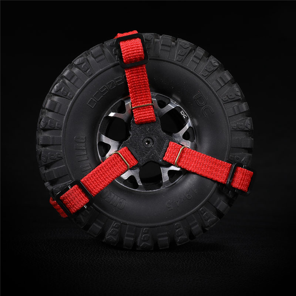 1.9/2.2 Universal Tire Strap Spare Tire String Straps for Rock Crawler DC TRX4 TRX 4 RC Car Parts