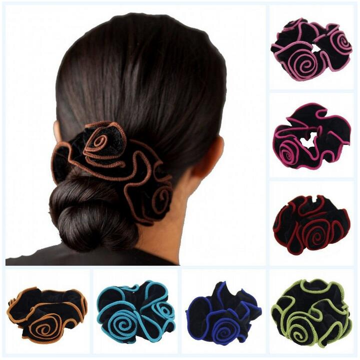 New Fashion Women Hair Rope Velvet Hair Ring Elastic Hair Bands Hair Accessories For