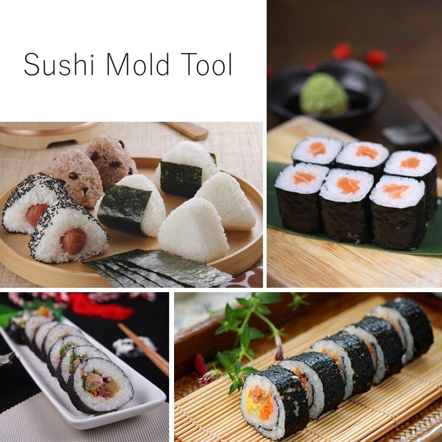 Long Sushi Roll Maker 3 Pieces Set