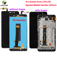 for Xiaomi Redmi Note 3 LCD Display+Touch Screen Special Global Version Digitizer display For Redmi Note 3 Pro SE screen 152MM