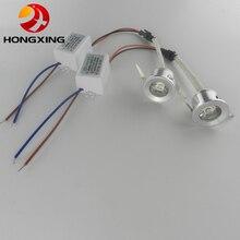 10 sztuk/partia 3W Mini led szafka światła AC85 265V mini led spot downlight obejmują napęd led CE ROHS lampa sufitowa mini światła