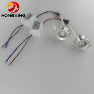 Image 1 - 10pcs/lot 3W Mini led cabinet light AC85 265V mini led spot downlight include led drive CE ROHS ceiling lamp mini light