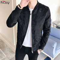 HCXYMen's Pilot Baseball Jacket Men Three dimensional Print Jacket Windbreaker Male Four Seasons Jaqueta Mens Clothing5XL