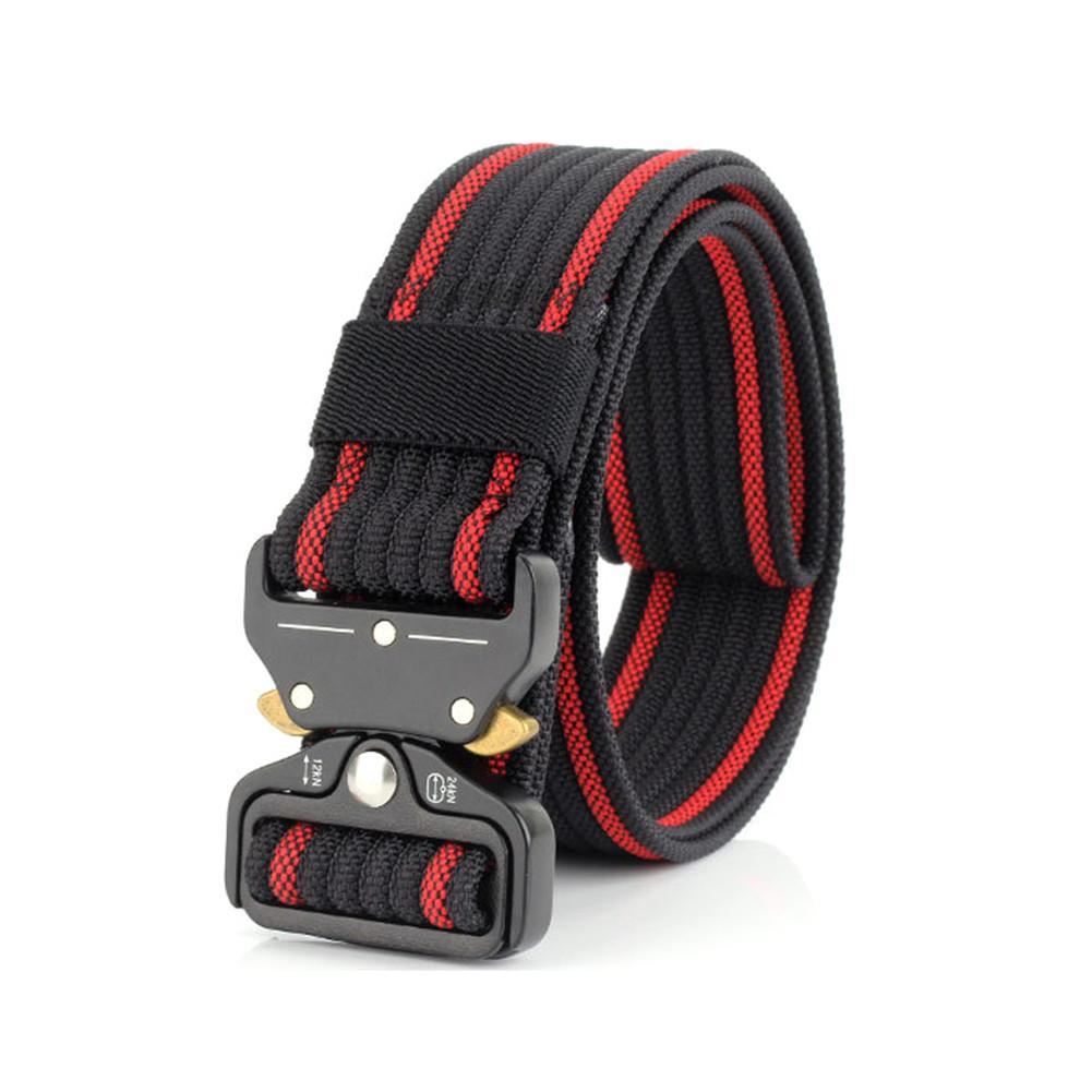 2018 New Style Quick-releasing for 3.8 Cobra Deduction Outside The Belt Tactical Nylon Belt Outdoor Training Belt Sport Belt