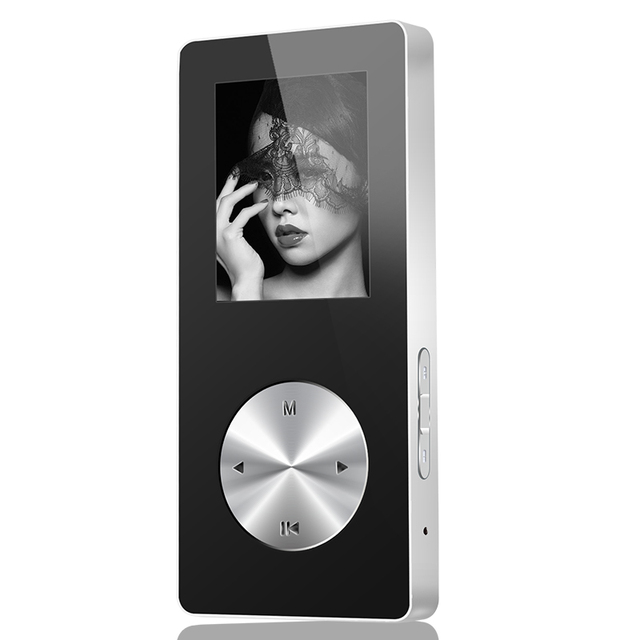 NEW MP4 Bluetooth Full Metal Hifi MP4 Music Player, MP4 Player Bluetooth With Loudspeaker Armband Support Video Recording Watch