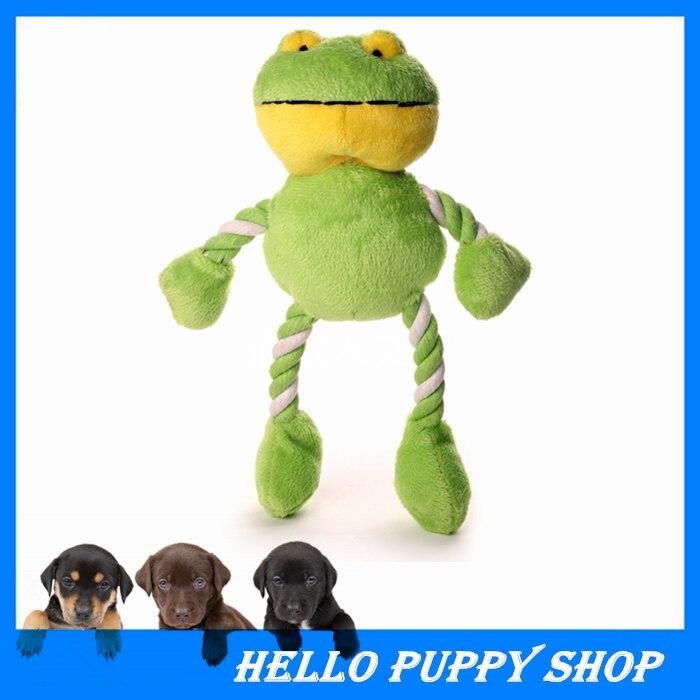 ᗕHellomoon Juguetes de perros mascotas Juguetes Rana Linda perro ...