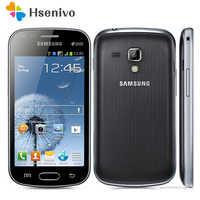 S7562 Original Unlocked Samsung S7562 1500mAh 5MP 4.0 `` 3G GSM/WCDMA Dual SIM Card Cellphone Free Shipping