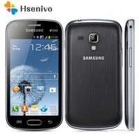 """S7562 oryginalny odblokowany Samsung S7562 1500mAh 5MP 4.0 """"3G GSM/WCDMA podwójna karta sim telefon komórkowy darmowa wysyłka"""