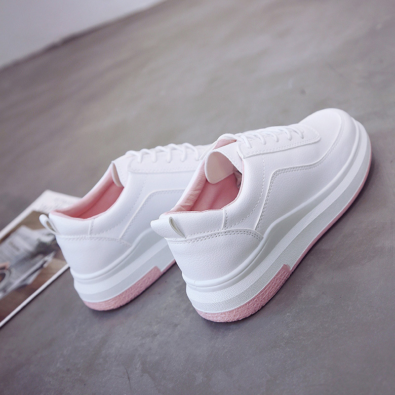 Women Shoes Genuine Leather Loafers Women Mixed Colors running shoes Handmade Soft Comfortable Shoes Women white sneakers