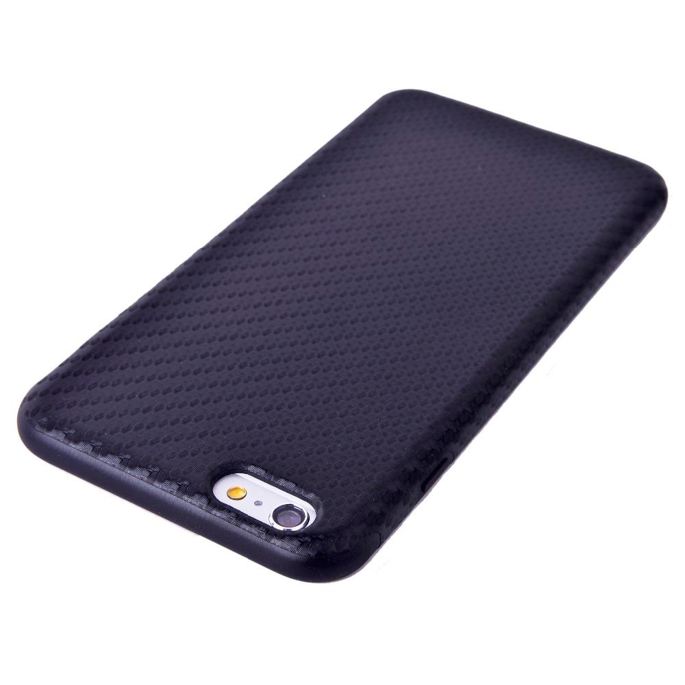 Փափուկ TPU ածխածնային մանրաթել ծածկ ՝ - Բջջային հեռախոսի պարագաներ և պահեստամասեր - Լուսանկար 6